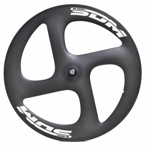 SDM 4S Carbon Wheel White Decals For Triathlon Time Trail Bike