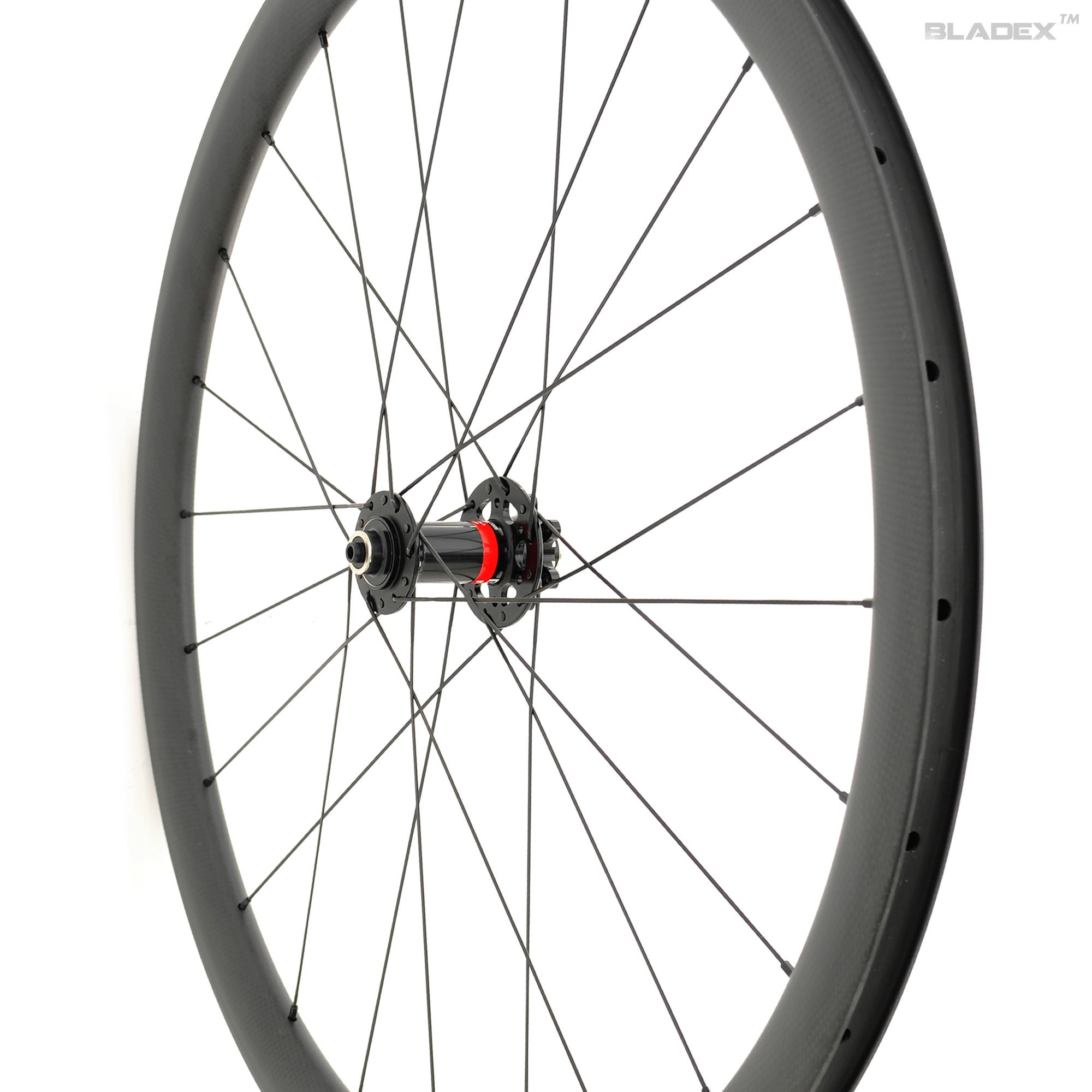 SDM 4X4 Road Disc Brake Carbon Front Wheel