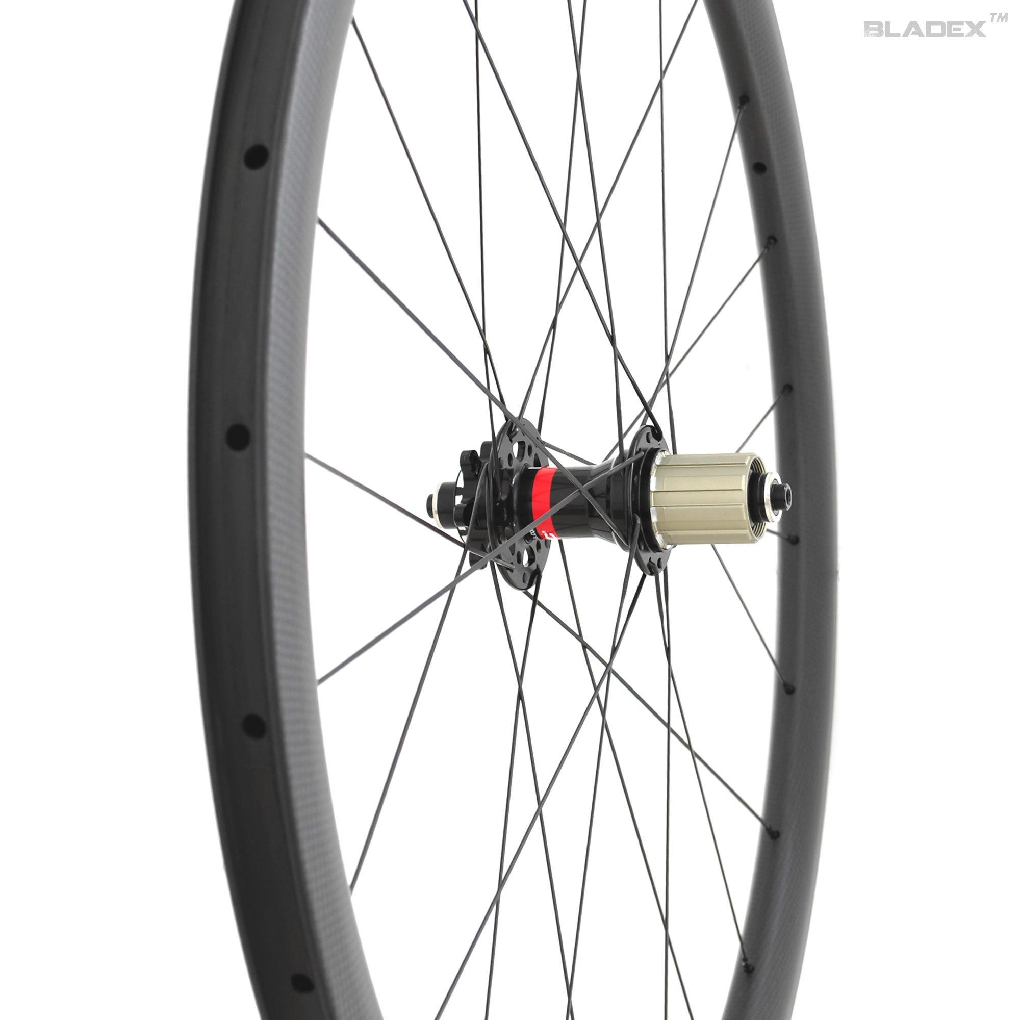SDM 4X4 Road Disc Brake Carbon Rear Wheel