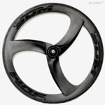 SDM 3S Turbo Carbon Wheel Black Decals For Triathlon Time Trail Bike