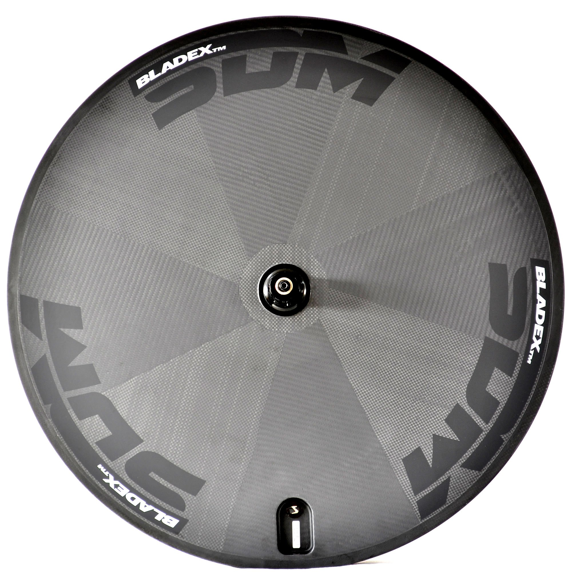 BladeX SDM Disc Wheel White Decals For Triathlon And Time Trial Bikes