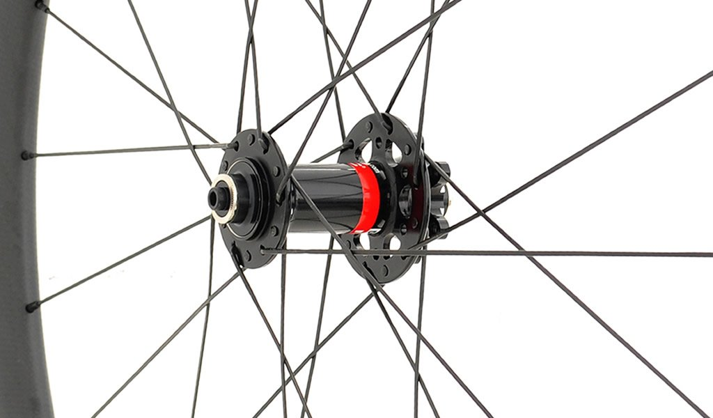 SDM 4X4 Road Disc Brake Carbon Front Wheel Hub
