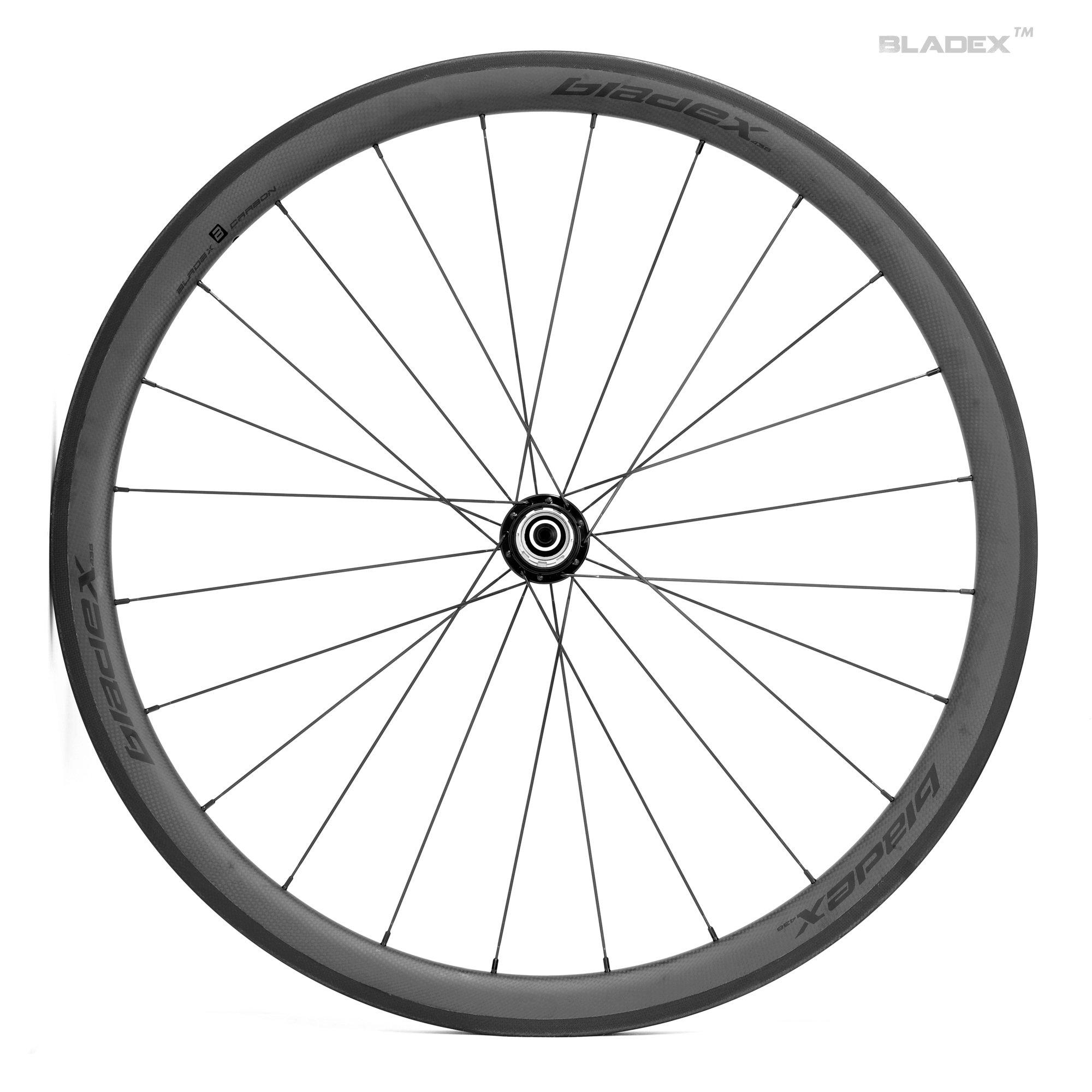 Pro road bike 38mm carbon wheels basalt braking surface for Bicycle rims