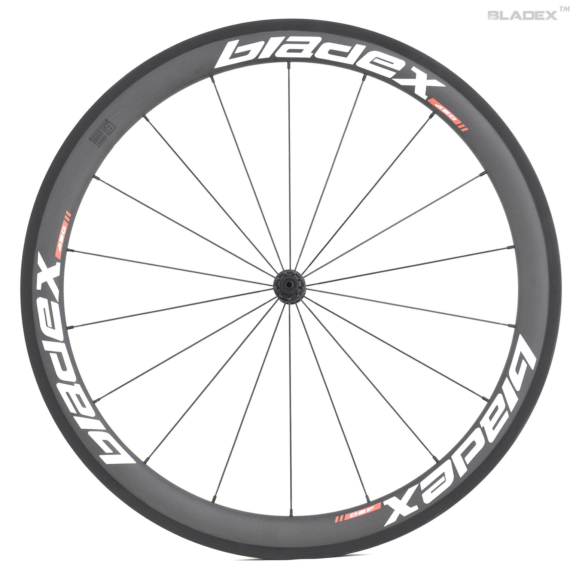 50mm Carbon Wheels- White