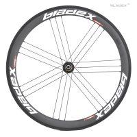 50mm Carbon Wheels- White Rear 8