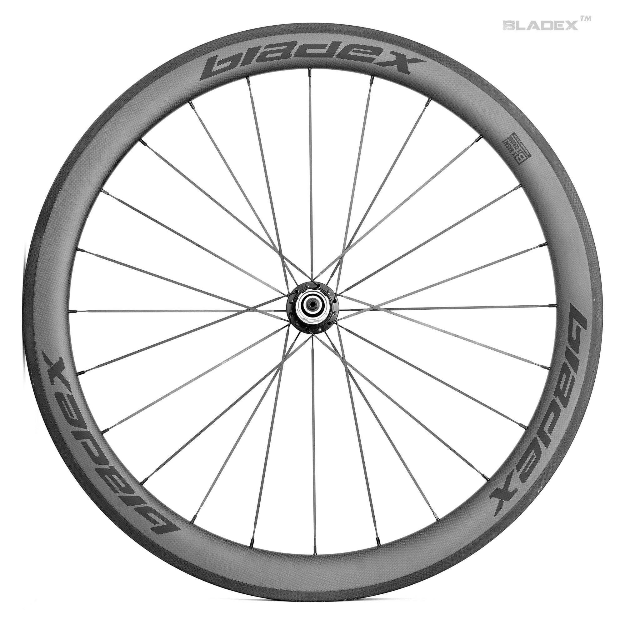 Pro carbon road bike 50mm wheelset basalt braking surface for Bicycle rims