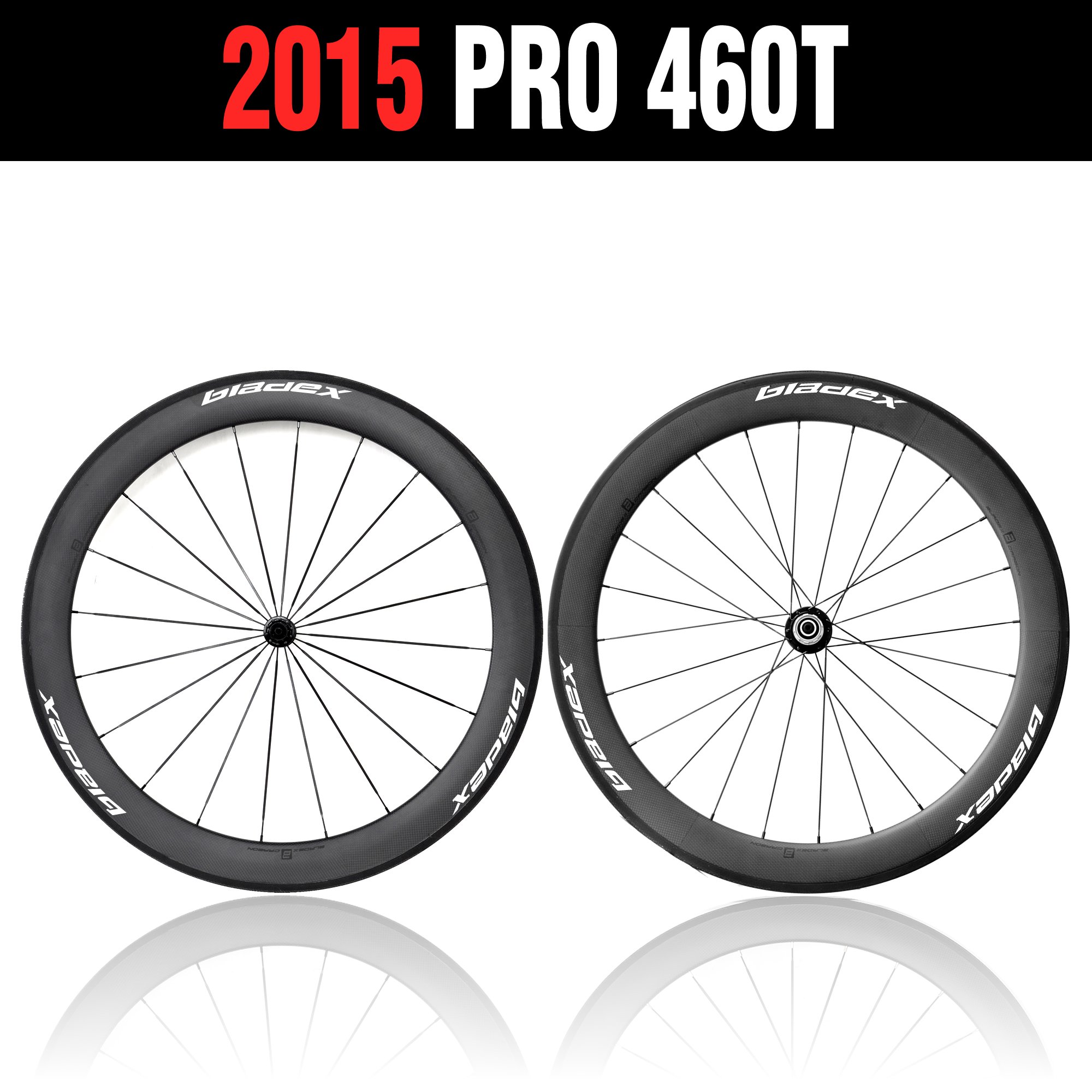 60mm Wheelset- White Decal