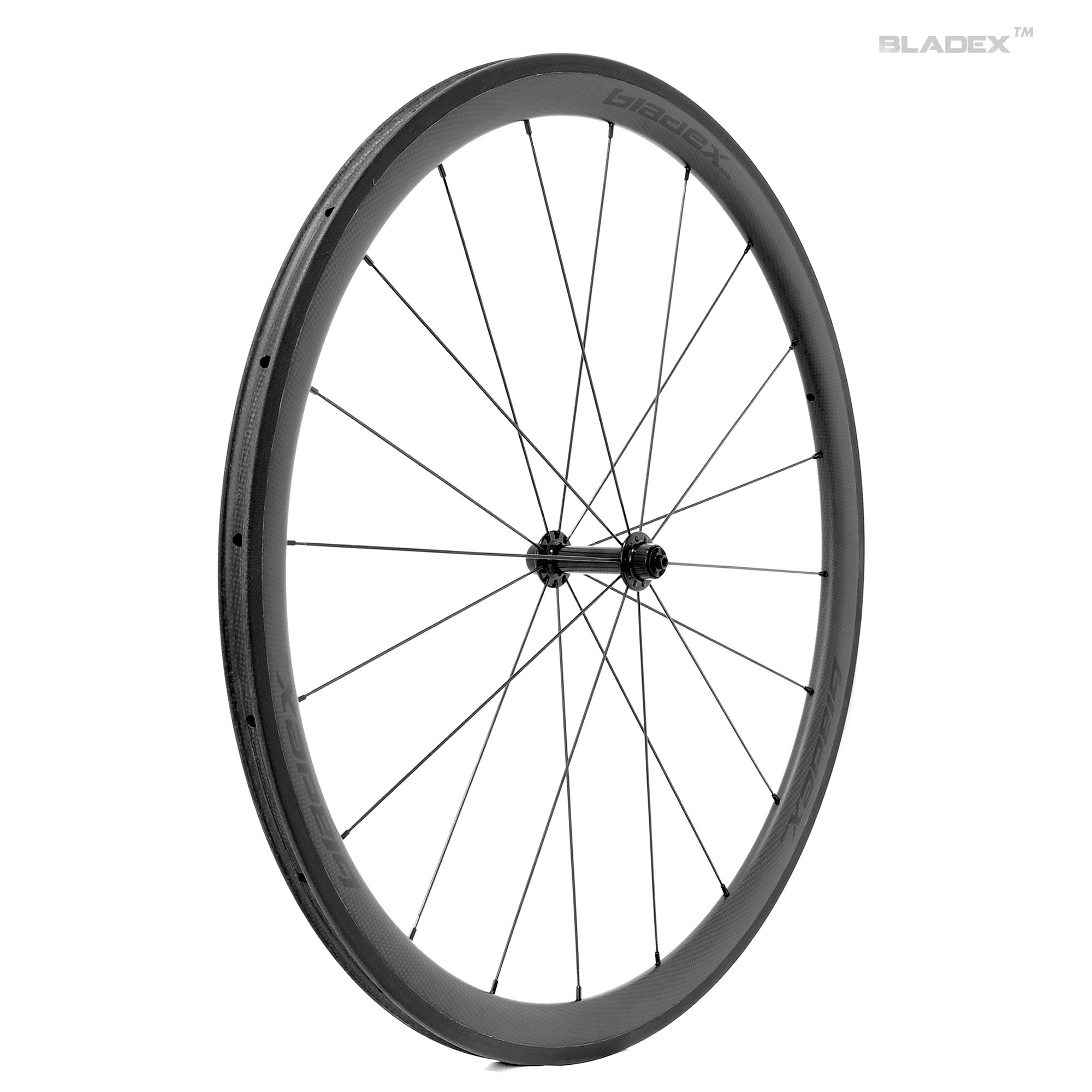 Pro Road Bike 38mm Carbon Wheels Basalt Braking Surface Ceramic