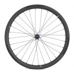 BladeX ULTIAMTE ROAD DB38 Disc Brake Road Bike Wheelset Front With Black Logo