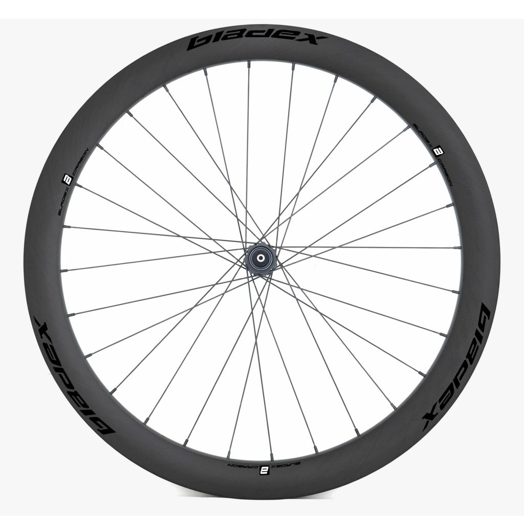 BladeX ULTIAMTE ROAD Disc Brake Road Bike Wheelset Front With Black Logo