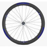 BladeX ULTIAMTE ROAD DB50 Disc Brake Road Bike Wheelset Front With Blue Logo