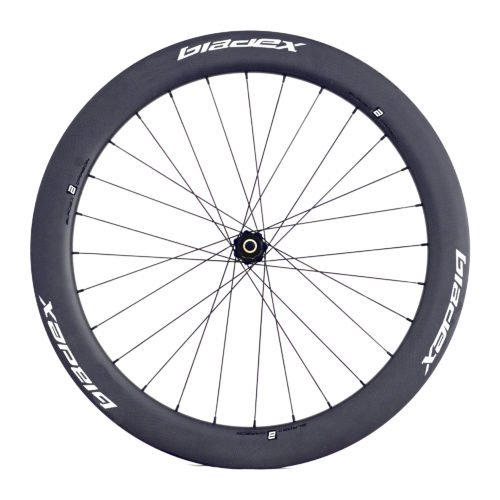 BladeX ULTIAMTE ROAD Disc Brake Road Bike Wheelset Front With White Logo