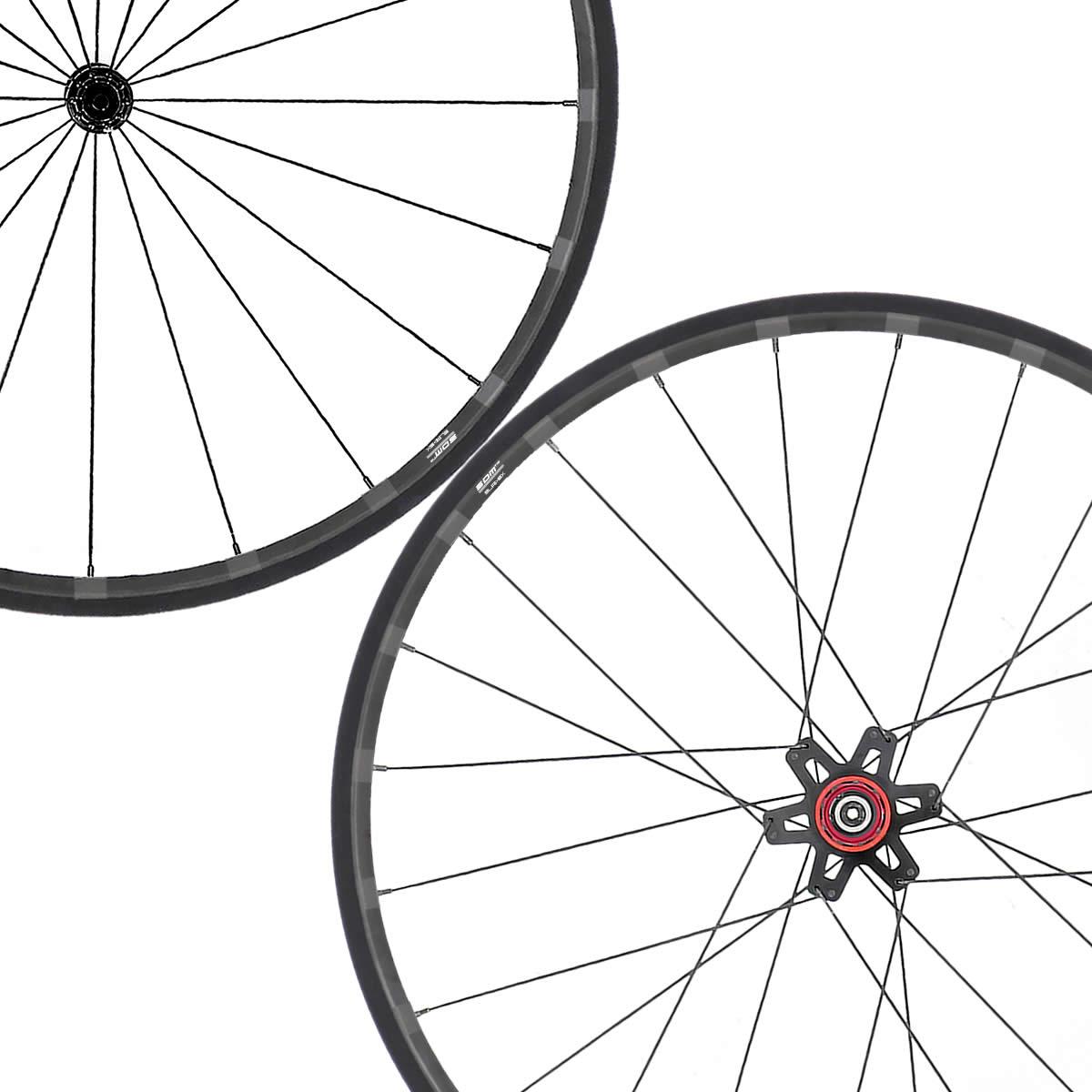 SDM 2X2 Bike Wheels