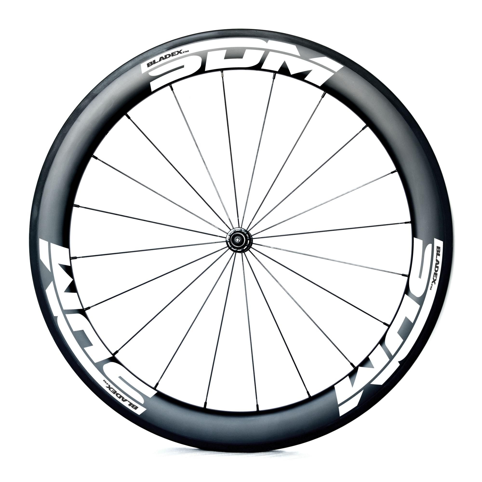 SDM 6 Front Carbon Wheel UD Matte White Logo
