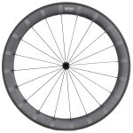 SDM 6X9 Front Wheel UD Matte White Logo With Stripes