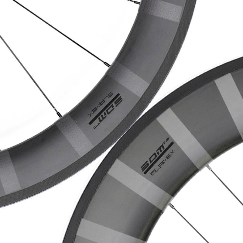 SDM 6X9 Black Logo With Stripes