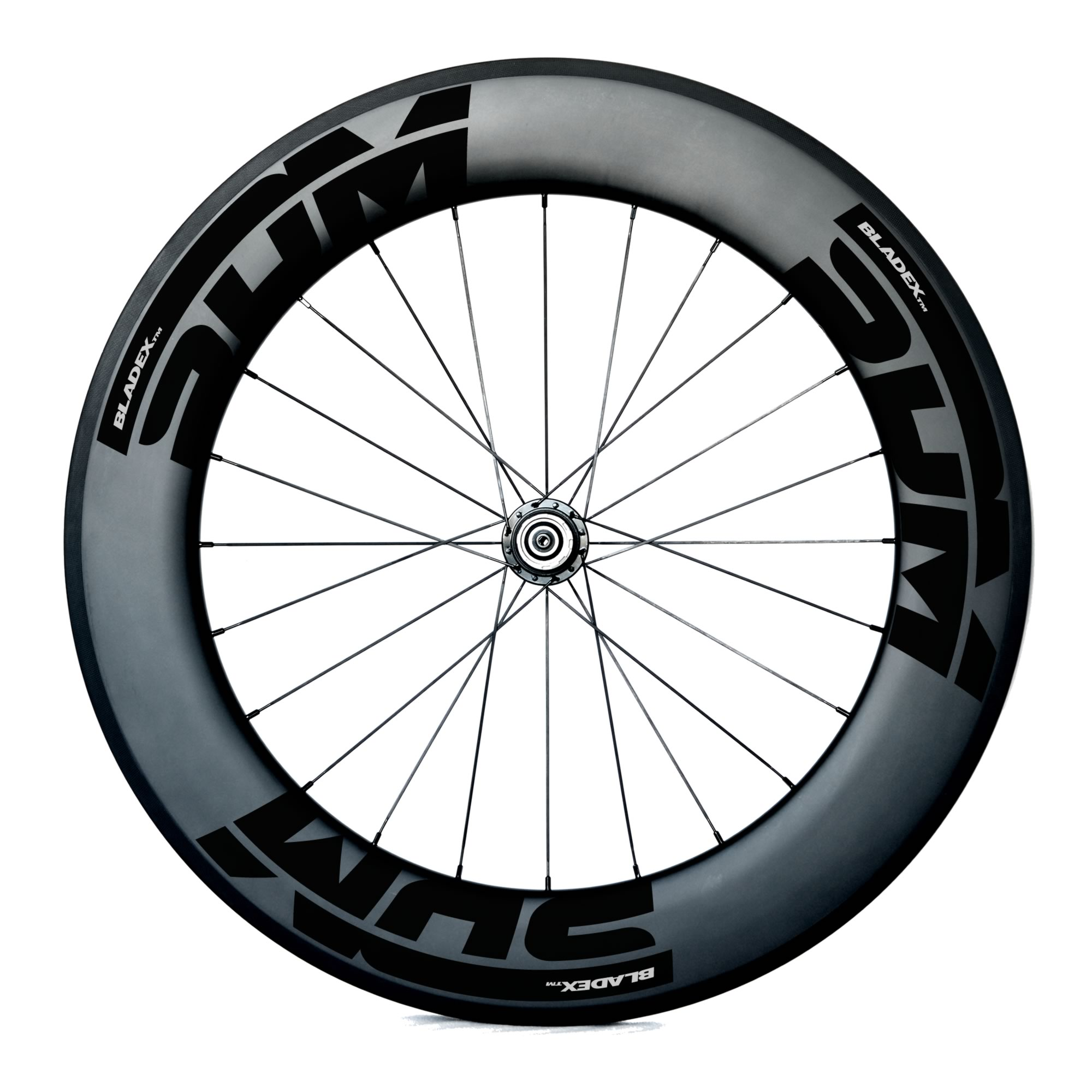 SDM 9 Rear Carbon Wheel UD Matte Black Logo