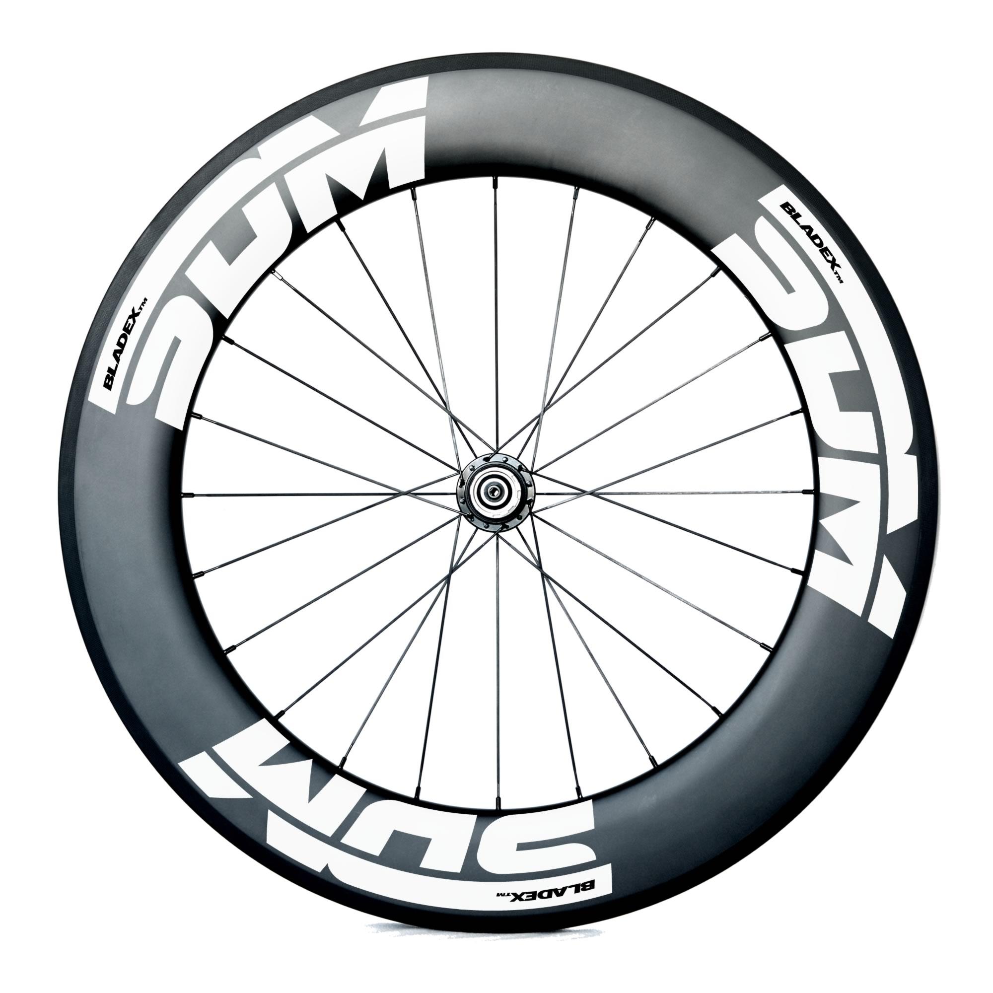 SDM 9 Rear Carbon Wheel UD Matte White Logo