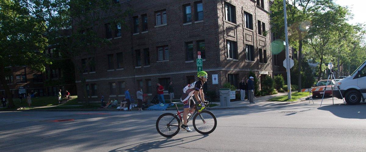 Steven Knurr Test Ride BladeX Road Bike Wheelset
