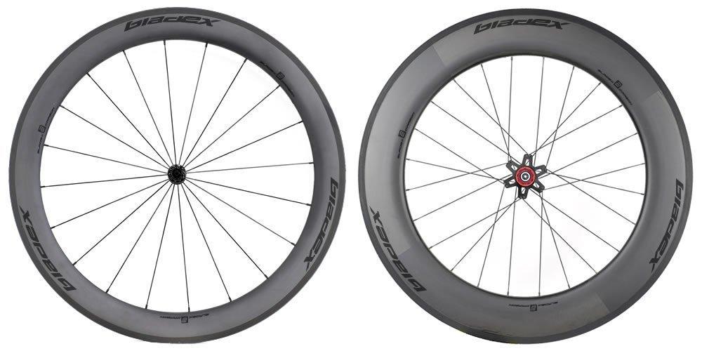 SDM 6X9 Carbon Wheelset UD Matte Classic Black Logo