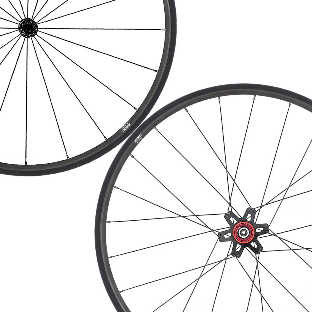 SDM 2X2 Climbing Road Bike Wheelset