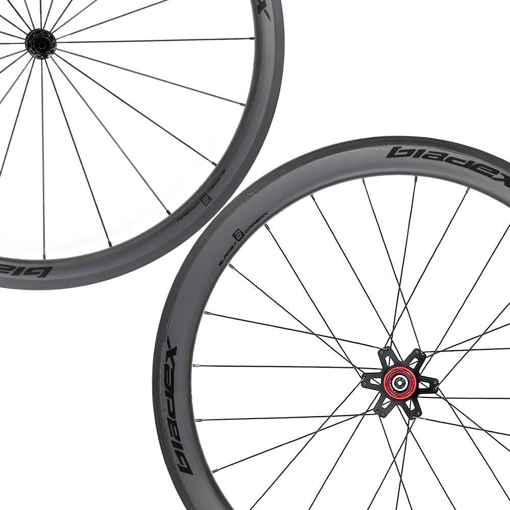 SDM 4X5 Carbon Wheelset UD Matte Classic Black Logo