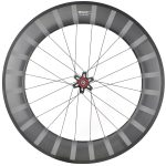 SDM 6X9 Rear Wheel UD Matte White Logo With Stripes