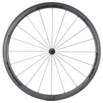 SDM 4X4 Carbon Road Bike Wheel Front UD Matte Classic Black Logo