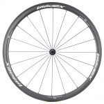 SDM 4X4 Carbon Road Bike Wheel Front UD Matte Classic White Logo