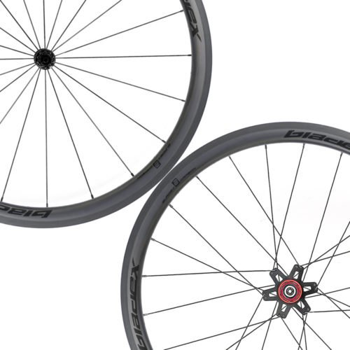 SDM 4X4 Carbon Road Bike Wheelset UD Matte Classic Black Logo 7