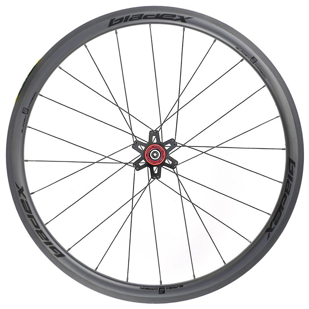 SDM 4X4 Carbon Road Bike Wheel Rear UD Matte Classic Black Logo