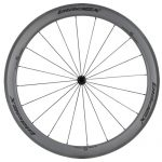 SDM 5X5 Carbon Road Bike Wheel Front UD Matte Classic Black Logo