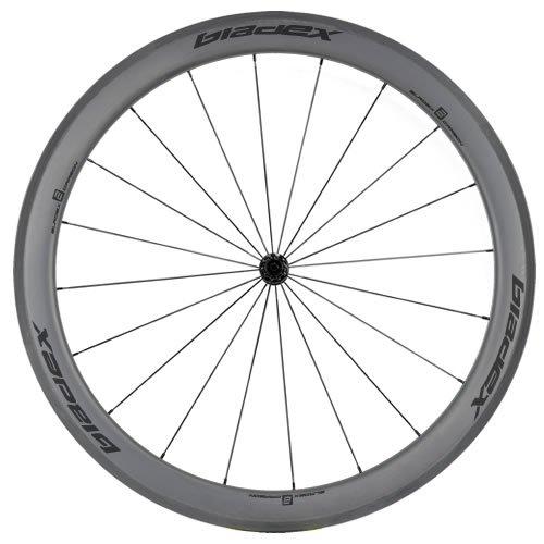 SDM 5X5 Carbon Road Bike Wheel Front UD Matte Classic Black Logo