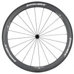 SDM 5X5 Carbon Road Bike Wheel Front UD Matte Classic White Logo