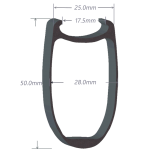 SDM 5 Carbon Rim Shape