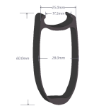 SDM 6 Carbon Rim Shape 6