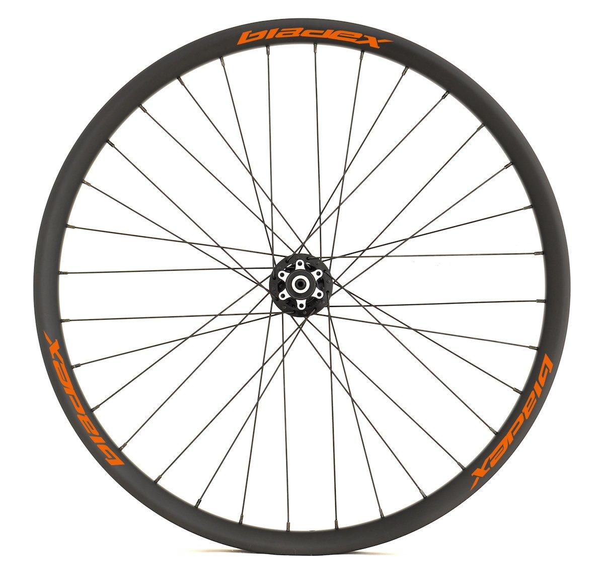 Custom Build MTB Wheels Orange