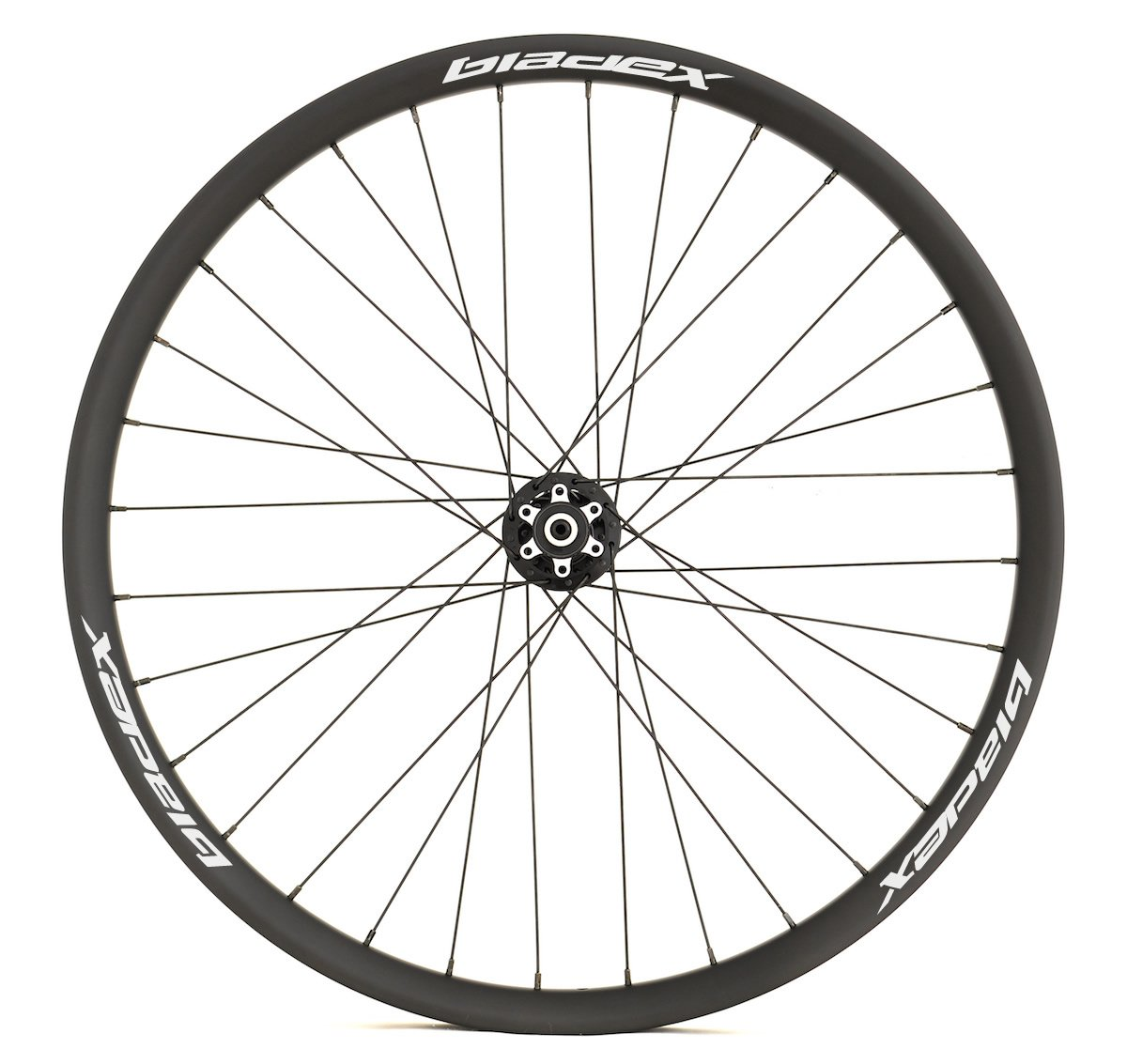 Custom Build MTB Wheels White