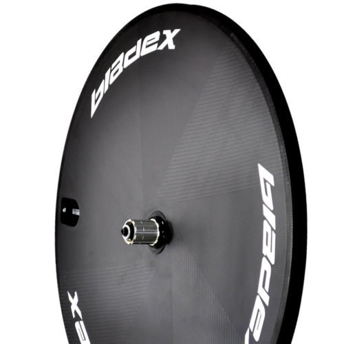 BladeX SDM™ Disc Wheel White Decals For Triathlon And Time Trial Bikes