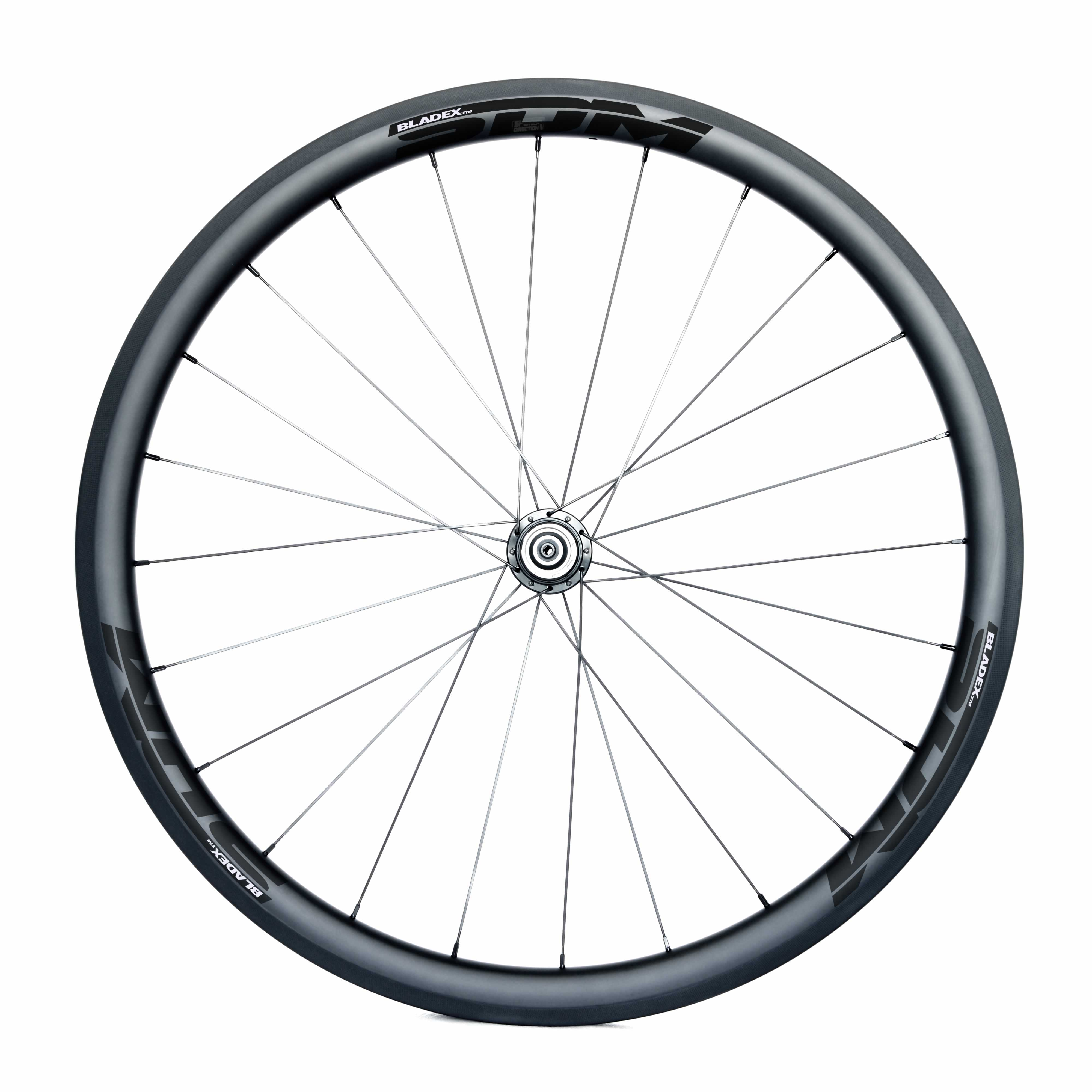 SDM 4 Carbon Road Bike Rear Wheel UD Matte SDM Black Logo