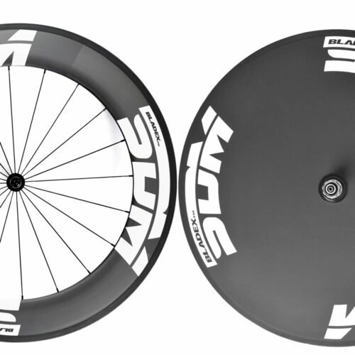 SDM 9 X Disc Wheelset White