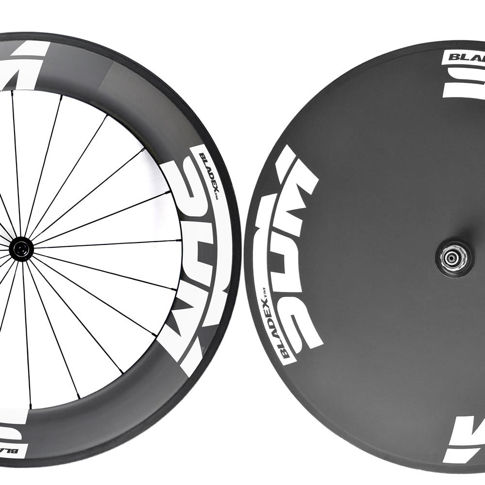 SDM 9 X Disc Wheelset White